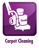 Carpet Cleaning Service Icon